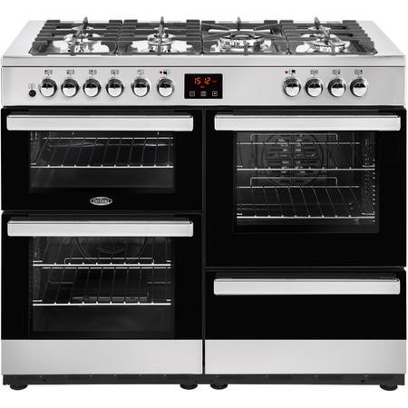 Belling Cookcentre 110DF 110cm Dual Fuel Range Cooker Stainless steel