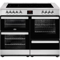 Belling 444444097 Cookcentre 110E 110cm Electric Ceramic Range Cooker Stainless steel