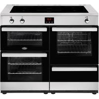 Belling Cookcentre 110Ei 110cm Electric Induction Range Cooker Stainless steel