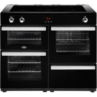 Belling Cookcentre 110Ei 110cm Electric Induction Range Cooker Black