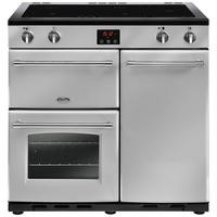Belling Farmhouse 90Ei 90cm Electric  Range Cooker With Induction Hob Silver
