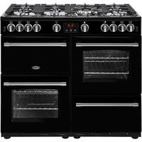 Belling Farmhouse 100G 100cm Gas Range Cooker Black