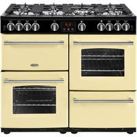 Belling Farmhouse 100G 100cm Gas Range Cooker Cream