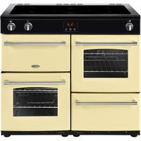 Belling Farmhouse 100Ei 100cm Electric  Range Cooker With Induction Hob Cream