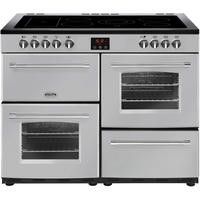 Belling Farmhouse 110E 110cm Electric Range Cooker With Ceramic Hob Silver