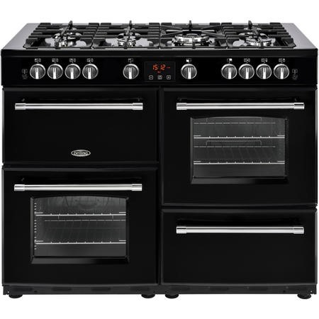 Belling Farmhouse 110G 110cm Gas Range Cooker Black