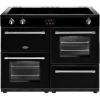 Belling Farmhouse 110Ei 110cm Electric Range Cooker With Induction Hob Black