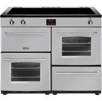 Belling Farmhouse 110Ei 110cm Electric Range Cooker With Induction Hob Silver