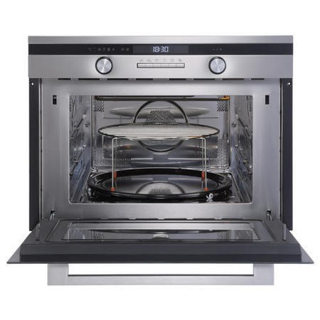 New World 444444187 Design Suite 45CM 44L 900W Built-in Combination Microwave Oven Stainless Steel