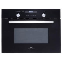 New World 444444188 Design Suite 45CM 44L 900W Built-in Combination Microwave Oven Black