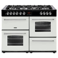 Belling Farmhouse 110DFT 110cm Dual Fuel Range Cooker Icy Brook