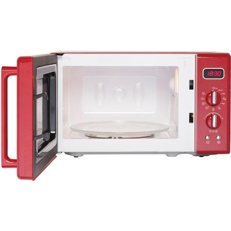 Belling FMR2080S 20L 800W Retro Design Freestanding Microwave in Red
