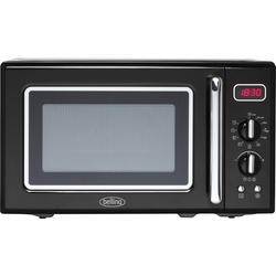 Belling FMR2080S 20 Litre 800W Freestanding Microwave Oven Black
