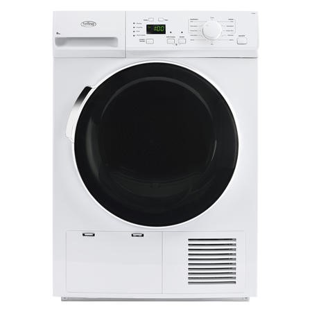 Belling FCD800 8kg Freestanding Condenser Tumble Dryer - White