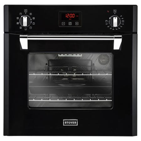 Stoves 68L Multifunction Electric Single Oven With Programmable Timer - Black