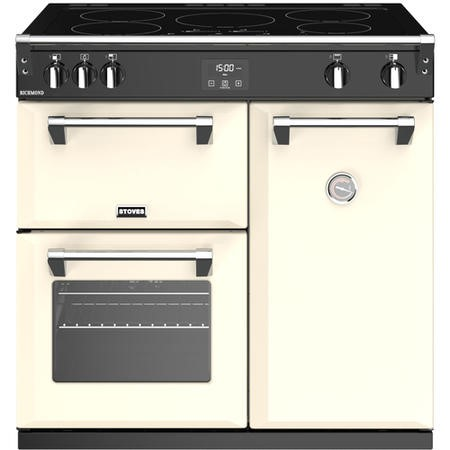 Stoves Richmond  S900Ei 90cm Electric Range Cooker With Induction Hob - Classic Cream