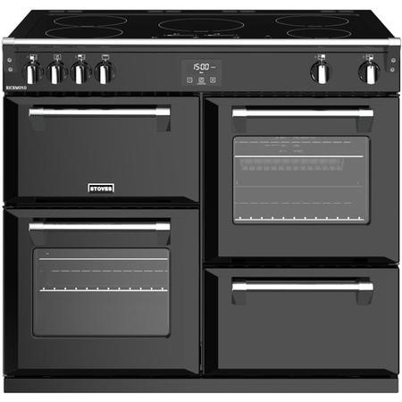 Stoves Richmond  S1000Ei 100cm Electric Range Cooker With Induction Hob - Black