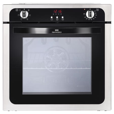 New World NW602FP 73L Electric Single Oven - Stainless Steel