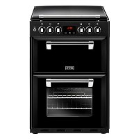Stoves Richmond 600DF 60cm Double Oven Dual Fuel Cooker With Bluetooth Connectivity - Black