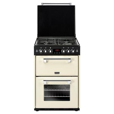 Stoves Richmond 600G 60cm Double Oven Gas Cooker - Cream