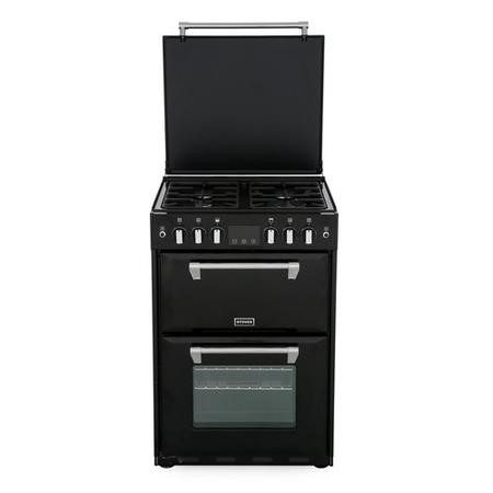 Stoves Richmond 600G 60cm Double Oven Gas Cooker - Black