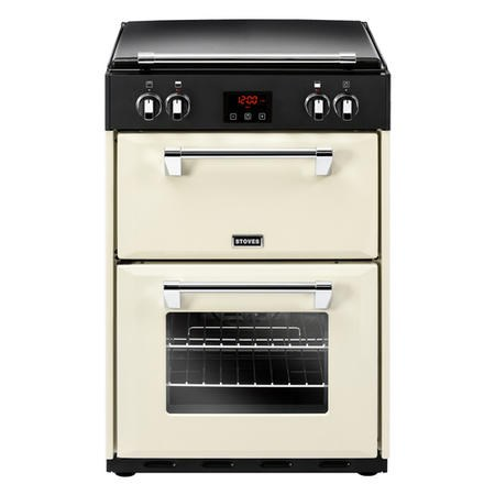 Stoves Richmond 600EI 60cm Double Oven Electric Cooker With Induction Hob And Bluetooth Connectivity - Cream