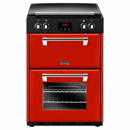 Stoves Richmond 600EI 60cm Double Oven Electric Cooker With Induction Hob And Bluetooth Connectivity - Jalapeno