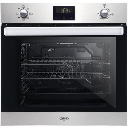 Belling 444444775 BI602FPCT 73L Built-in Single Fan Oven With Catalytic Liners - Stainless Steel
