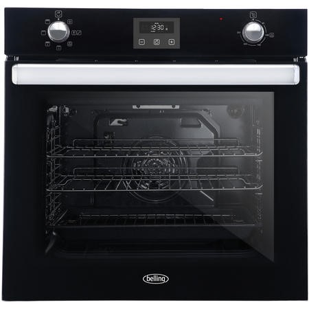 Belling 444444776 BI602FPCT 73L Built-in Single Fan Oven With Catalytic Liners - Black