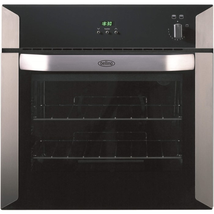 Belling Bi60gsta Built In Gas Single Oven Stainless Steel