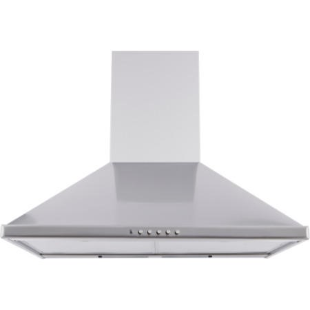 New World CHIM60 Unbranded 60cm Chimney Cooker Hood Stainless Steel