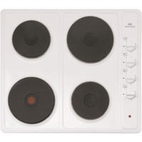 New World NW SHU60 Mk2 Four Zone 60cm Sealed Plate Hob - White