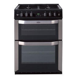 Belling FSG60TC 60cm Twin Cavity Gas Cooker in Stainless steel