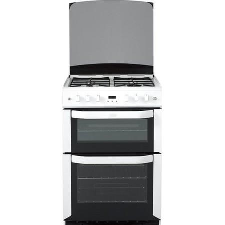 Belling FSG60DOP 60cm Double Oven Gas Cooker White