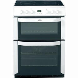 Belling FSE60DOP 60cm Freestanding Double Oven Electric Cooker in White