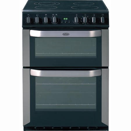 Belling FSE60MF 60cm Freestanding Multifunction Electric Cooker - Stainless Steel
