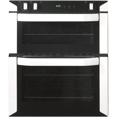 Belling BI70FP Built-under Electric Double Oven - White