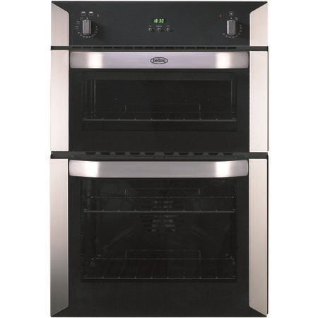 Belling BI90F Electric Built-in Double Oven - Stainless Steel