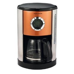 Morphy Richards 47096 Pf Accents Coffee Maker In Copper Appliances Direct