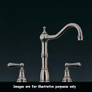 Perrin And Rowe 4771cp Alsace Country Style 3 Hole Mixer Tap