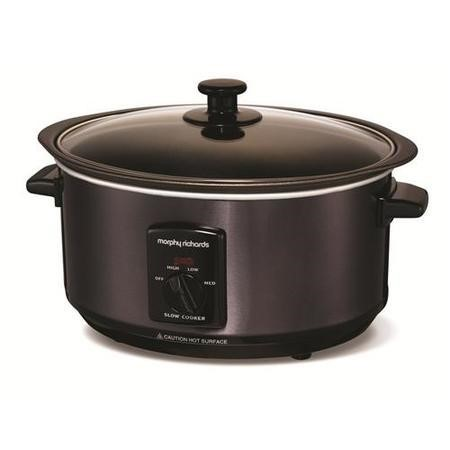Morphy Richards 48703 3.5lt Searing Pot And Slow Cooker Black