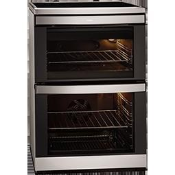 AEG 49332I-MN 60cm Double Oven Electric Cooker Stainless Steel