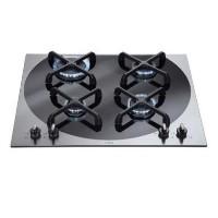 CDA 4Q4SS Q-style 59cm Four Burner Gas Hob Stainless Steel