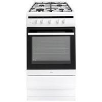 Amica 508GG5W Freestanding 50cm Single Cavity Gas Cooker - White