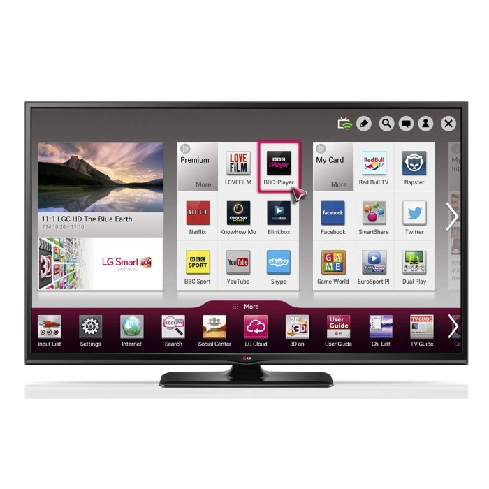 lg 50pb690v 50 inch smart 3d plasma tv appliances direct. Black Bedroom Furniture Sets. Home Design Ideas
