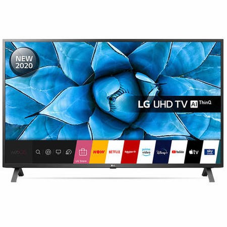 "LG 50UN73006LA 50"" 4K Ultra HD HDR Smart LED TV with Freeview HD/Freesat HD"