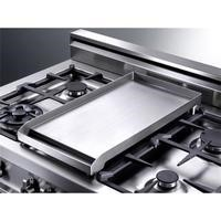 Bertazzoni 544440719 901162 Stainless Steel Griddle For 6 Burners Configuration