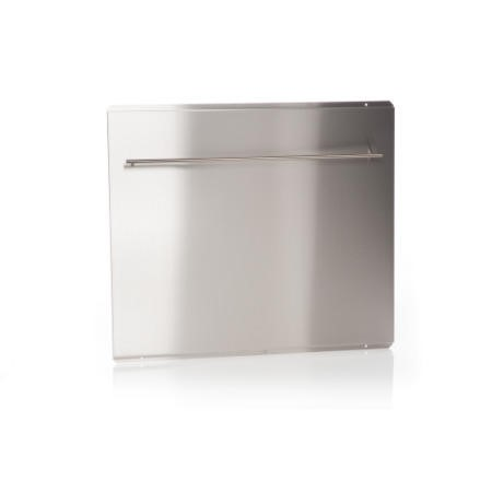 Britannia 544446049 100cm SBK Stainless Steel Splashback with Rail