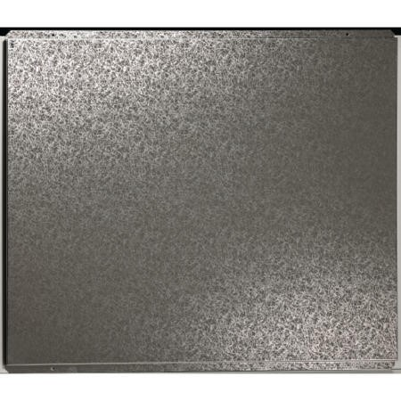 Britannia 90cm SBK Decorative Steel Silver Splashback