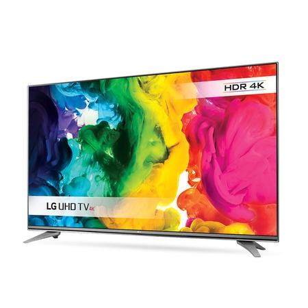 "LG 55UH750V 55"" Freeview HD and Freesat HD and Freeview Play Smart 4K Ultra HD with HDR TV - Titan Silver"